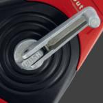 Outibat Premium - Cordeau traceur permet d'effectuer des tracés pour les travaux d'une certaine ampleur avec le système push pour sortir le cordeau plus rapidement.