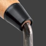 Outibat Premium - Truelle forgées monoblocs avec virole et culot en acier laitonnée, une fabrication traditionnelle.
