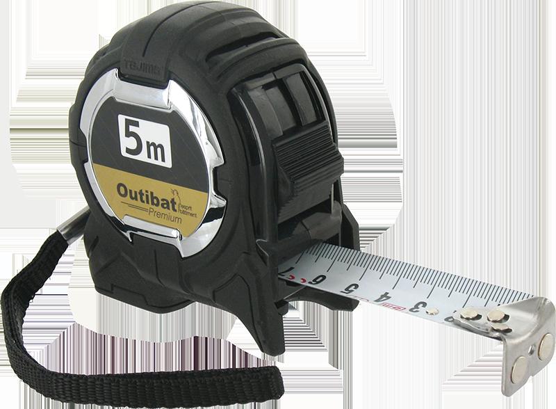 Outibat Premium - La mesure est l'outil indispensable à avoir dans toutes les boîtes à outils